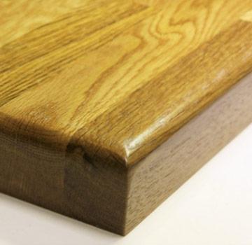 Мебельный щит цельноламельный, порода — Ясень